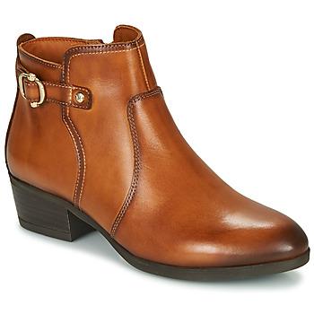 鞋子 女士 短靴 Pikolinos 派高雁 DAROCA W1U 棕色