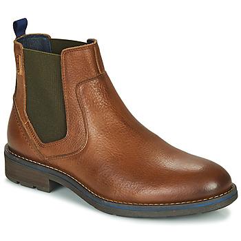 鞋子 男士 短筒靴 Pikolinos 派高雁 YORK M2M 棕色
