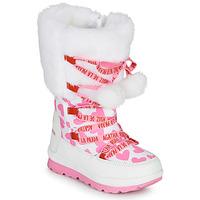 鞋子 女孩 雪地靴 Agatha Ruiz de la Prada 阿嘉莎·鲁兹·德 APRESKI 白色