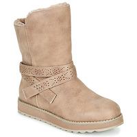 鞋子 女士 短筒靴 Skechers 斯凯奇 KEEPSAKES 2.0 灰褐色