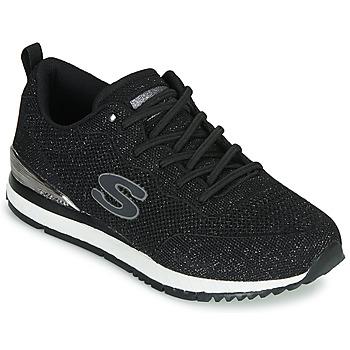 鞋子 女士 球鞋基本款 Skechers 斯凯奇 SUNLITE 黑色