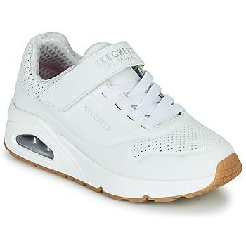 鞋子 儿童 球鞋基本款 Skechers 斯凯奇 UNO 白色