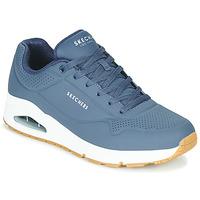 鞋子 男士 球鞋基本款 Skechers 斯凯奇 UNO STAND ON AIR 海蓝色