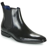 鞋子 男士 短筒靴 Azzaro 阿莎露 JAGER 黑色