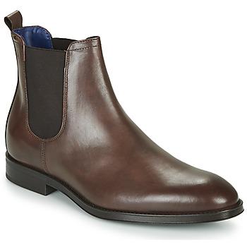 鞋子 男士 短筒靴 Azzaro 阿莎露 SEVILLE 棕色