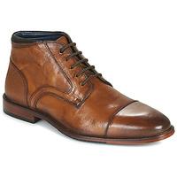 鞋子 男士 短筒靴 Azzaro 阿莎露 TELLIS 棕色