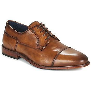 鞋子 男士 德比 Azzaro 阿莎露 TILLEUL 棕色
