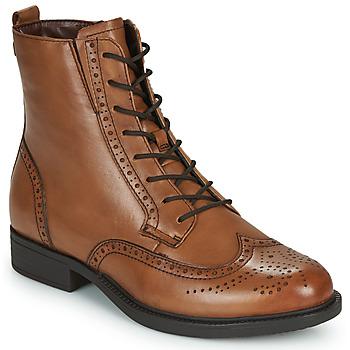 鞋子 女士 短筒靴 Tamaris SUZAN 棕色