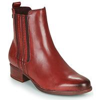 鞋子 女士 短靴 Tamaris MARLY 波尔多红