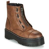 鞋子 女士 短筒靴 Emmshu AVRIL 棕色