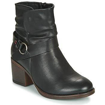 鞋子 女士 短靴 Emmshu FLEUR 黑色