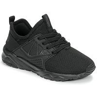 鞋子 儿童 球鞋基本款 Kappa 卡帕 SAN DIEGO ELASTIC 黑色