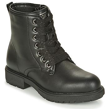 鞋子 女孩 短筒靴 Gioseppo YELETS 黑色