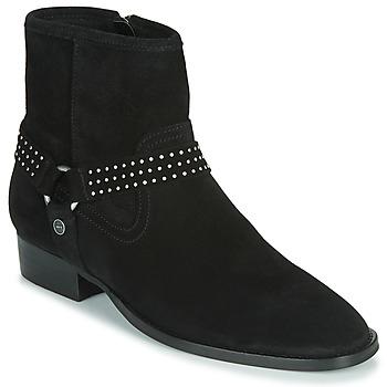 鞋子 女士 短筒靴 Ikks BOOTS GAUCHO 黑色