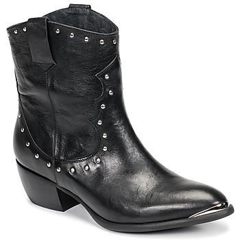 鞋子 女士 都市靴 Ikks BOTTES 黑色
