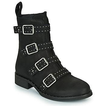 鞋子 女士 短筒靴 Ikks URBAN RANGERS 黑色