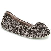 鞋子 女士 拖鞋 Isotoner 97209 Leopard