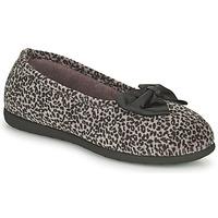 鞋子 女士 拖鞋 Isotoner 97261 Leopard