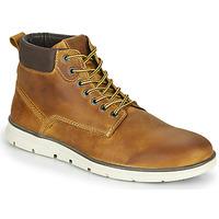 鞋子 男士 短筒靴 Jack & Jones 杰克琼斯 JFW TUBAR LEATHER 棕色