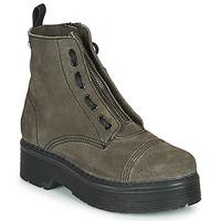 鞋子 女士 短筒靴 Musse&Cloud ERICA 灰色