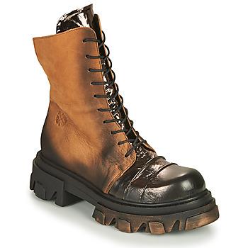鞋子 女士 短筒靴 Papucei NURIA 棕色 / 黑色