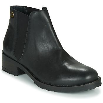 鞋子 女士 短筒靴 Pataugas DINA/N F4F 黑色