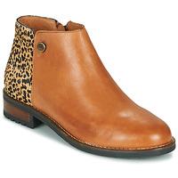 鞋子 女士 短筒靴 Pataugas MEGAN/PO F4F 驼色