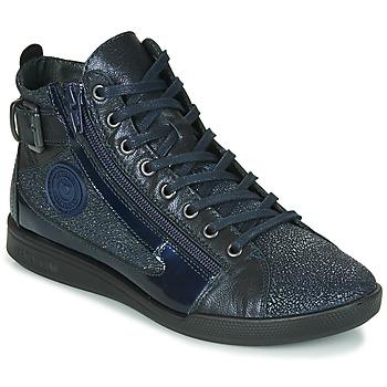 鞋子 女士 高帮鞋 Pataugas PALME/C F4F 海蓝色