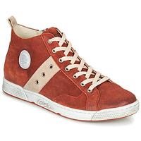 鞋子 男士 高帮鞋 Pataugas JAGGER/CR H4F 砖红色