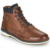 鞋子 男士 短筒靴 Redskins ACCRO 棕色