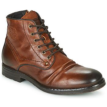 鞋子 男士 短筒靴 Redskins BAMBOU 棕色