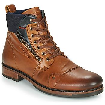 鞋子 男士 短筒靴 Redskins HAMAM 棕色