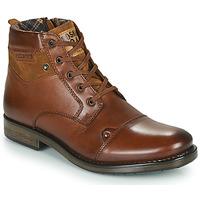 鞋子 男士 短筒靴 Redskins NISSA 棕色