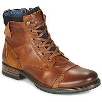 鞋子 男士 短筒靴 Redskins YANI 棕色