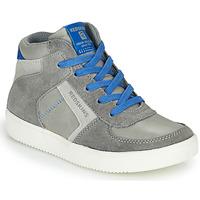 鞋子 男孩 高帮鞋 Redskins LAVAL KID 灰色 / 蓝色