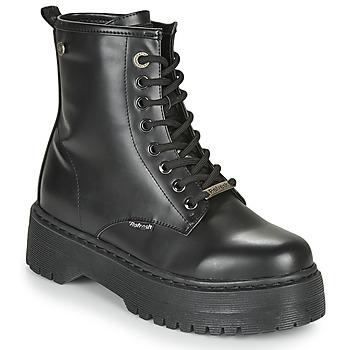 鞋子 女士 短筒靴 Refresh 72541 黑色