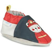 鞋子 男孩 拖鞋 Robeez FIREMAN 海蓝色 / 红色