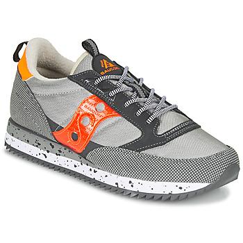 鞋子 球鞋基本款 Saucony JAZZ (PEAK) 灰色 / 红色 / 橙色