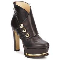 鞋子 女士 短靴 Moschino MA2104 深色 / 棕色