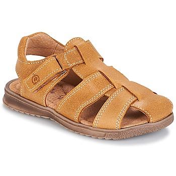 鞋子 男孩 凉鞋 Citrouille et Compagnie MELTOUNE 驼色