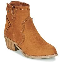鞋子 女士 短靴 Xti 波尔蒂伊 44614 驼色