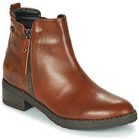 鞋子 女士 短筒靴 Xti 波尔蒂伊 44721 棕色