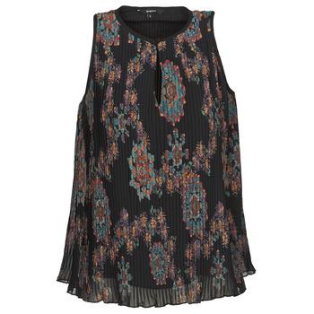 衣服 女士 无领短袖套衫/无袖T恤 Desigual MIRA 蓝色