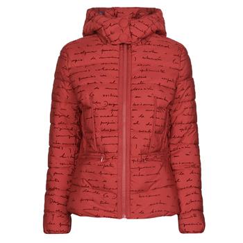 衣服 女士 羽绒服 Desigual NATASHA 红色