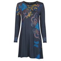 衣服 女士 短裙 Desigual WASHINTONG 蓝色