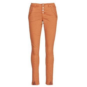衣服 女士 多口袋裤子 Cream HOLLY CR TWILL 棕色