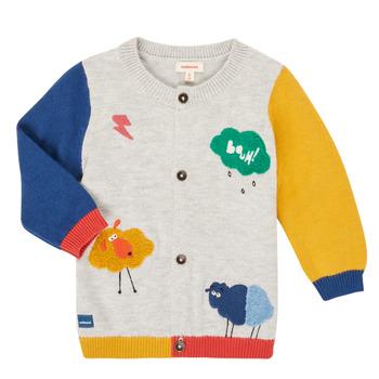 衣服 男孩 羊毛开衫 Catimini CR18020-20 多彩