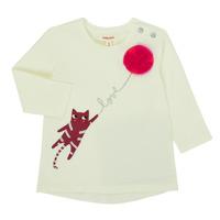衣服 女孩 长袖T恤 Catimini CR10063-11 玫瑰色