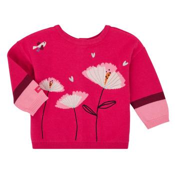 衣服 女孩 羊毛开衫 Catimini CR18033-35 玫瑰色