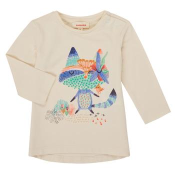 衣服 女孩 长袖T恤 Catimini CR10053-12 白色